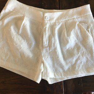 NWT E. Leigh's Boutique White Shorts